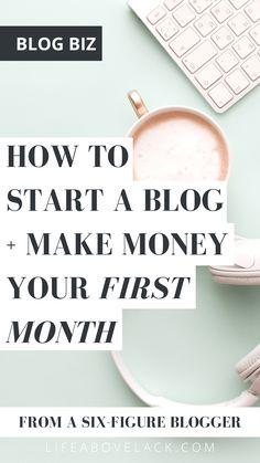 Make Money Blogging, Make Money From Home, How To Make Money, Blog Writing, Writing Tips, Make Blog, How To Start A Blog, Blog Topics, Blog Planner