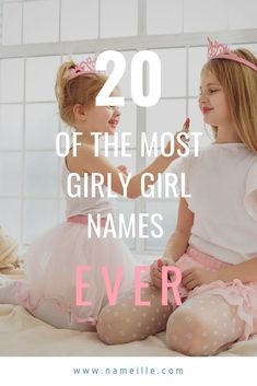 These are the most feminine girly girl names around. We hope you find this list all things pink, sparkly, and girly. Girly Girl Names, Elegant Girl Names, Feminine Names, Baby Girl Names, Traditional Girl Names, Pretty Kids, Before Baby, Having A Baby, Little Princess