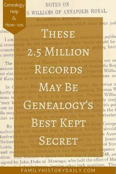Have you looked for your ancestors in these detailed genealogy records?