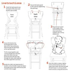 Portable High Chair Pattern   mylittleseat portable high chair : Huckleberry…
