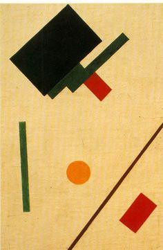 Malevich, Kasimir Suprematist composition, 1915-1916