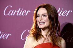 Pin for Later: Schluss mit den ruhigen Festtagen! Die Stars feiern beim Palm Springs Film Festival Julianne Moore