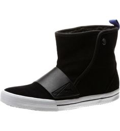 "This stylish kick takes the bootie trend to a whole new level. The look is a modern take on sporty, with a rich suede upper, contrast pull tab, and rubber strap. Slip it on with jeans, leggings, or tights.Features:Suede upper for long wear and instant style Snap closure for easy on/offSynthetic fur lining for added warmth Rubber outsole for traction and stability5"" shaft height"