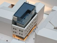 WAPA Krzysztof Kozłowski - Mariacka 10, Katowice, architectural model, maqueta