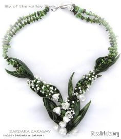 Lily of the Valley Necklace- Barbara Caraway