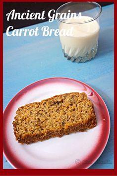 Carrot Bread #breadbakers