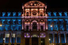 Credit Lyonnais - Paris, France historical buildings #facades #lighting #project #LED