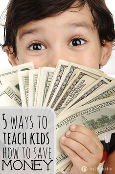 How can kids save money? Want to teach your kids how they can save money? Here are 5 ways that will help you get started!