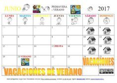 SUSANA Maestra de A.L.: Calendario mes de JUNIO
