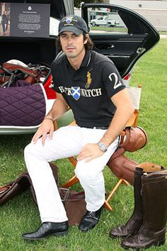 Nacho Figueras Explains Polo to Us - see you at the Palm Beach Polo Club!!!