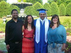 Oscar, Arianna, CJ and Stacy  June 6, 2012