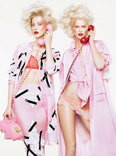 Fashiontography: Double Vision by Sharif Hamza