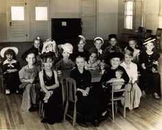 Dress up day at School 1940s.