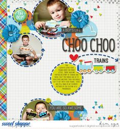 Digital scrapbook layout using A Boy's Life by Amanda Yi; and Dancing in the Street templates by Grace Lee (found at Sweet Shoppe Designs)