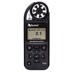 Other Vehicle Electronics: Kestrel 5700A Elite Weather Meter W/Applied Ballistics - Black 0857Ablk BUY IT NOW ONLY: $583.74