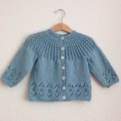 3d6c9a83408f3 Rosabel Cardigan - Free Pattern Crochet Baby Cardigan