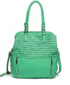 Urban Expressions Bags Frida Mint Green Handbags