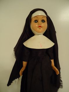 Retro Catholic Nun Doll Collectable Toy by RareOrchidCouture, $168.00