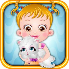Baby Hazel pampers her darling pet, Katy a lot. Today, Hazel wants to give her a  refreshing bath but mischievous Katy gets angry very fast. Can you help baby Hazel in giving shower to Katy and in other activities like feeding her with yummy meal and trimming her nails. https://play.google.com/store/apps/details?id=air.org.axisentertainment.BabyHazelNaughtyCat&hl=en