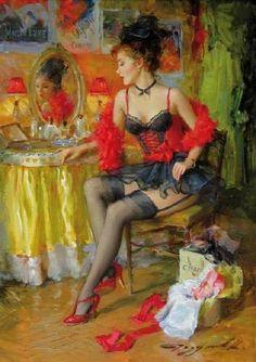 Konstantin Razumov  |  Dancer on the Moulin Rouge
