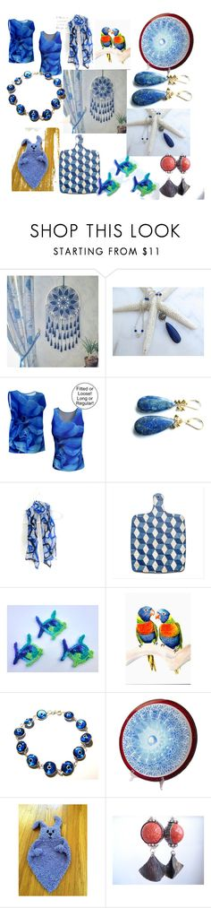 """""""Summer Gift Guide"""" by anna-recycle ❤ liked on Polyvore featuring Lazuli, MATÌ, modern, rustic and vintage"""