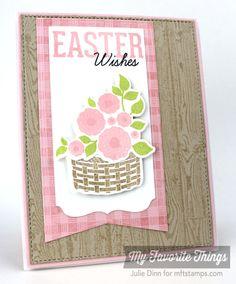 Easter Bunny, Wood Plank Background, Textile Backgrounds, Blueprints 2 Die-namics, Blueprints 13 Die-namics, Easter Bunny Die-namics, Stitched Circle STAX Die-namics - Julie Dinn #mftstamps