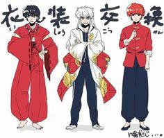 😂😍💔👌 Old Anime, Anime Guys, Inuyasha Love, Miroku, Manga Story, Animes Manga, Manga Anime, Anime Crossover, Online Anime