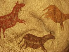 a faithful attempt: Cave Art Paintings