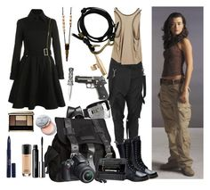 """Ziva David Inspired Look #2"" by vamp2011 ❤ liked on Polyvore featuring Co