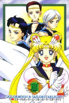 Toei Animation, Sailor Star Fighter, Sailor Star Healer, Sailor Moon