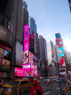 Time Square is exciting even in the daylight!