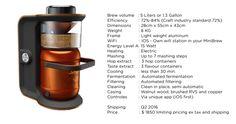 MiniBrew: The Easiest & Smartest Brewing Machine | Indiegogo