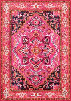 nuLOOM Machine Made Cordie KKCB10A Violet Pink Area Rug – Incredible Rugs and Decor