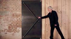 Olha isso! Uma porta tão engenhosa que irá reinventar seu conceito de porta!