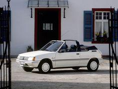 1986–90 Peugeot 205 СJ Cabrio