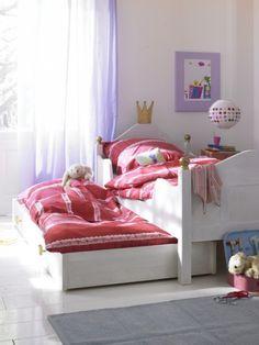 cooles mädchen zimmer gestalten ideen kleinkinder weiß lila decke, Moderne deko