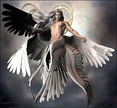 ✔ Anime Angel And Demon Fantasy Art Fantasy Magic, Fantasy Art Men, Final Fantasy Art, Male Angels, Angels And Demons, Angel Artwork, Angel Warrior, Ange Demon, Angel Pictures