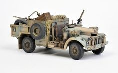 TAMIYA 1:35 LRDG GUN TRUCK CONVERSION | Model Military International