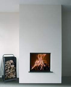 Heatmaster open wood fireplaces and heatmaster zero Contemporary wood burning fireplace inserts