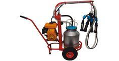 Доїльний апарат для корів Берізка з бензиновим двигуном