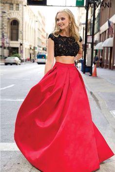 Elegante en rojo