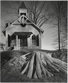 Armonk, N.Y.; André Kertész (American, born Hungary, 1894 - 1985); Armonk, New York, United States; 1941; Gelatin silver print; 24 x 19.8 cm (9 7/16 x 7 3/4 in.); 84.XM.193.30; J. Paul Getty Museum, Los Angeles, California