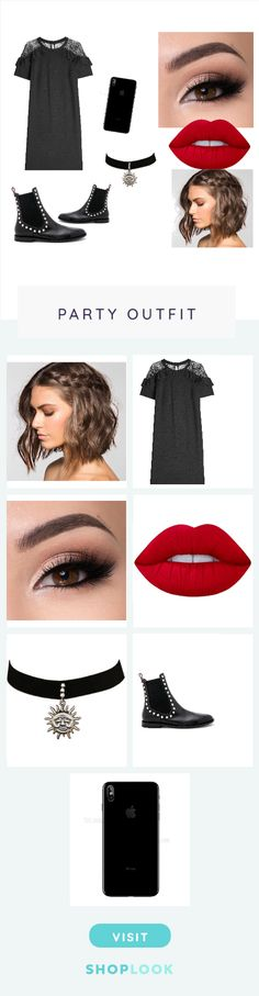Black reflects my soul created by alissia_diva        on ShopLook.io perfect for Party. Visit us to shop this look.