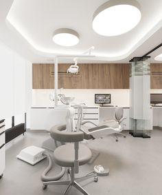Dental Office Decor, Medical Office Design, Healthcare Design, Clinic Interior Design, Clinic Design, Hospital Architecture, Interior Architecture, Cabinet Medical, Dental Design