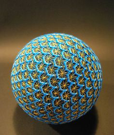 Temari Balls - The Creation of a 88 Year Old Japanese. The amazing creations of a 88 year old japanese grandmother, practicing with talent...