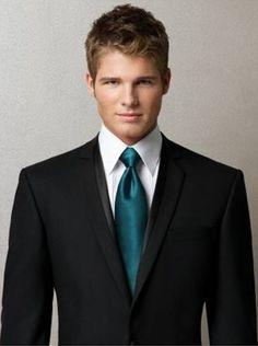 groomsmen attire | TEAL GROOMSMEN ATTIRE | Bridal Headpieces, Bridal Hairpieces by ...