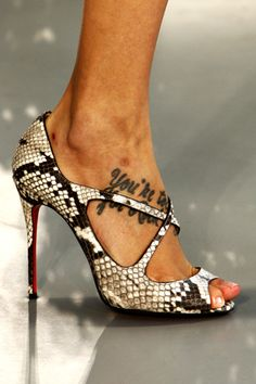 Christian Louboutin For Mary Kantrazou Spring 2012