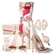 """Elegant Look"" by patrizia-brasil ❤ liked on Polyvore featuring moda, Vince Camuto, Blumarine, Casadei ve Sophie Bille Brahe"