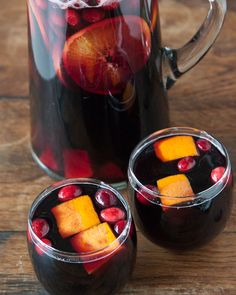 The perfect holiday cocktail: Cranberry Sangria