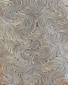 Almost like a fingerprint -- Aboriginal Art Galleries - Polly Nelson Nungala